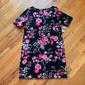 Karen Scott sport flower dress NWT size xl / 16